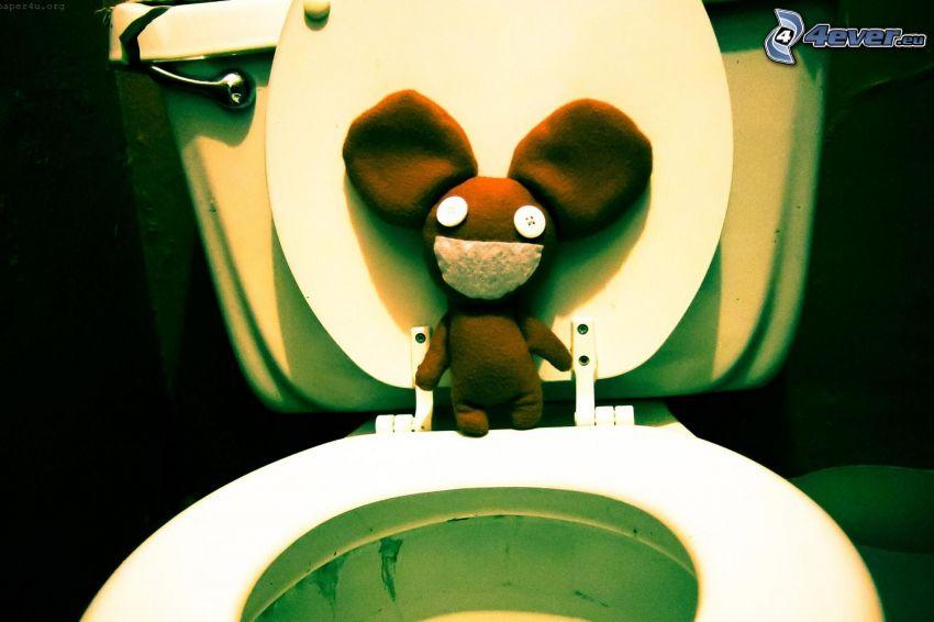 deadmau5, toaleta