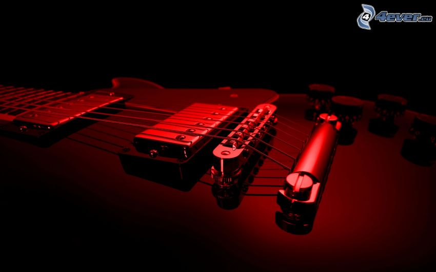 elektryczna gitara