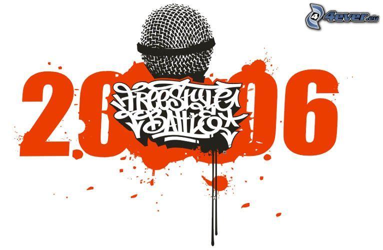 Freestyle battle, mikrofon, 2006