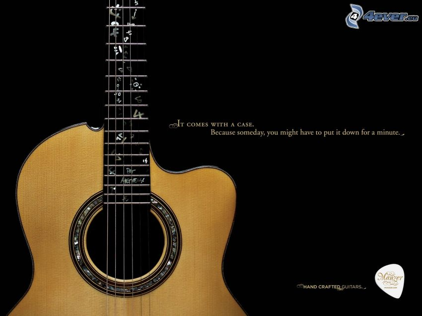 gitara, text