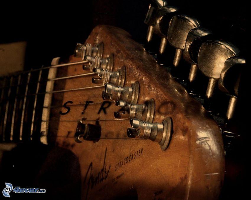 głowa gitary