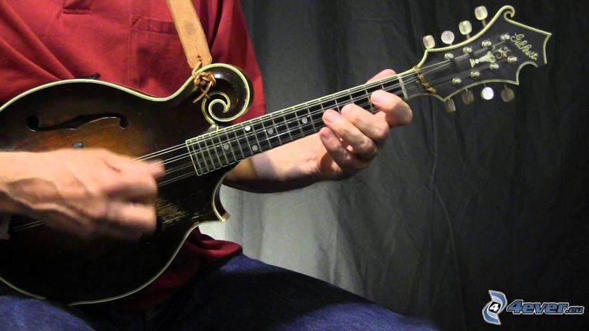 gra na mandolinie