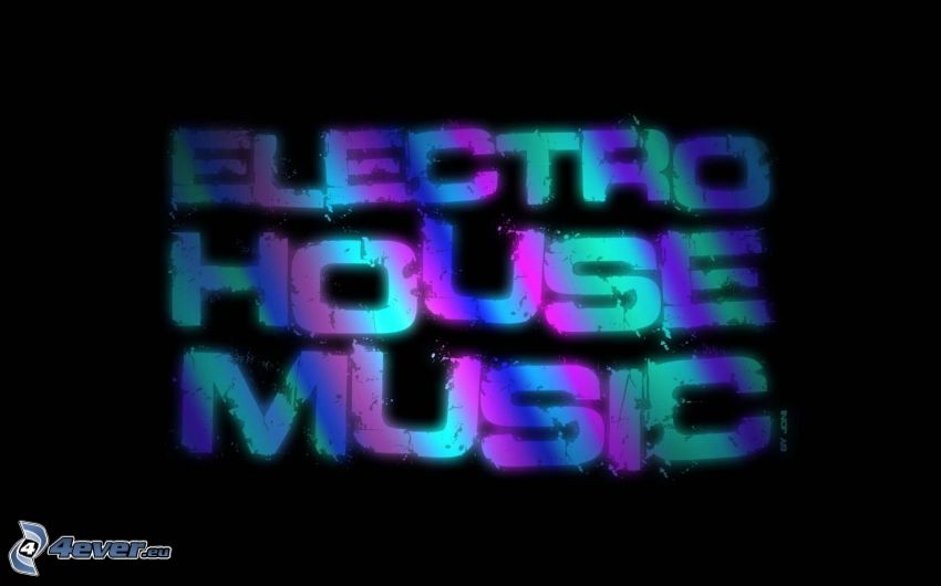 House music, text