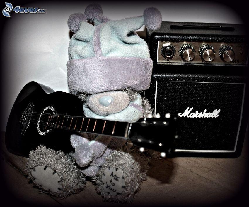 miś pluszowy, gitara, Marshall, czapka, Me to You