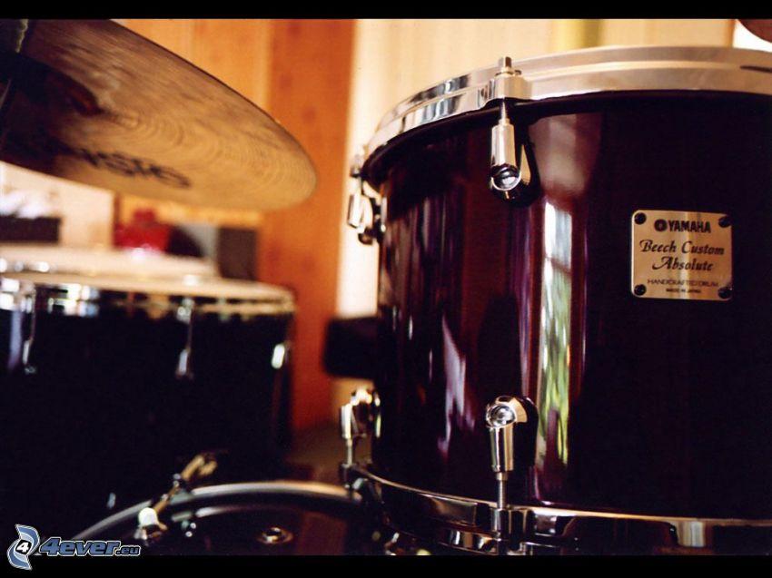 perkusja, talerz