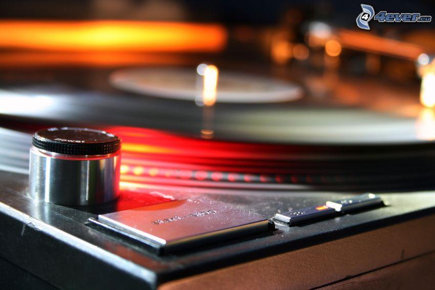płyta, gramofon
