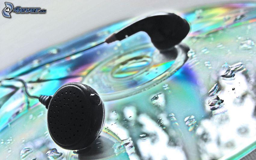 słuchawki, CD