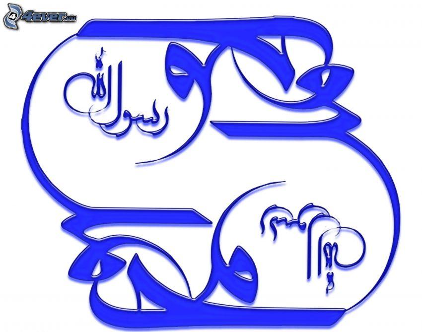 narysowany symbol