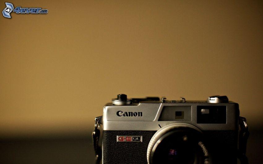 aparat fotograficzny, Canon