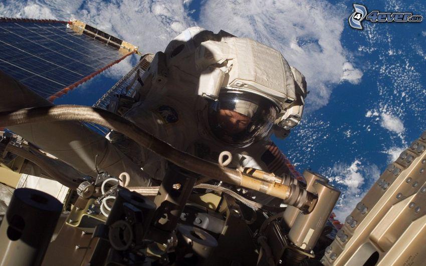 astronauta, Ziemia z ISS