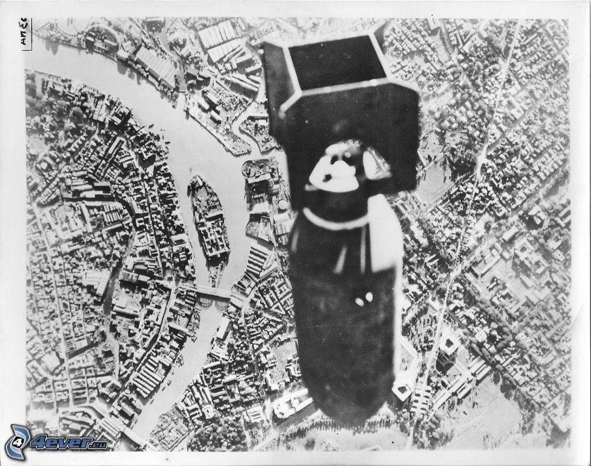 bomba, miasto