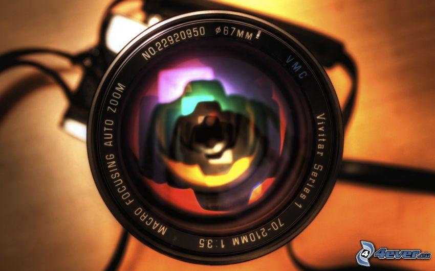 obiektyw, aparat fotograficzny