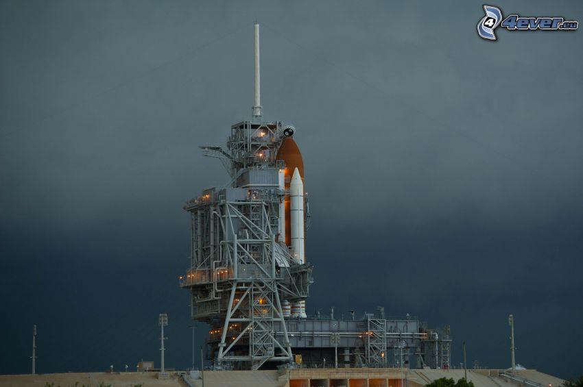 rakieta, platforma startowa