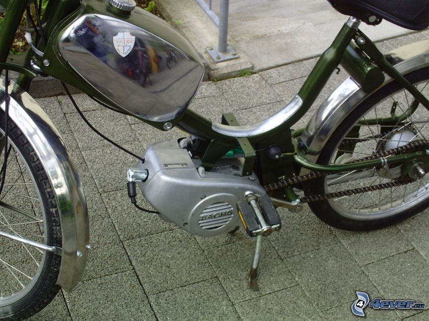 skuter, rower