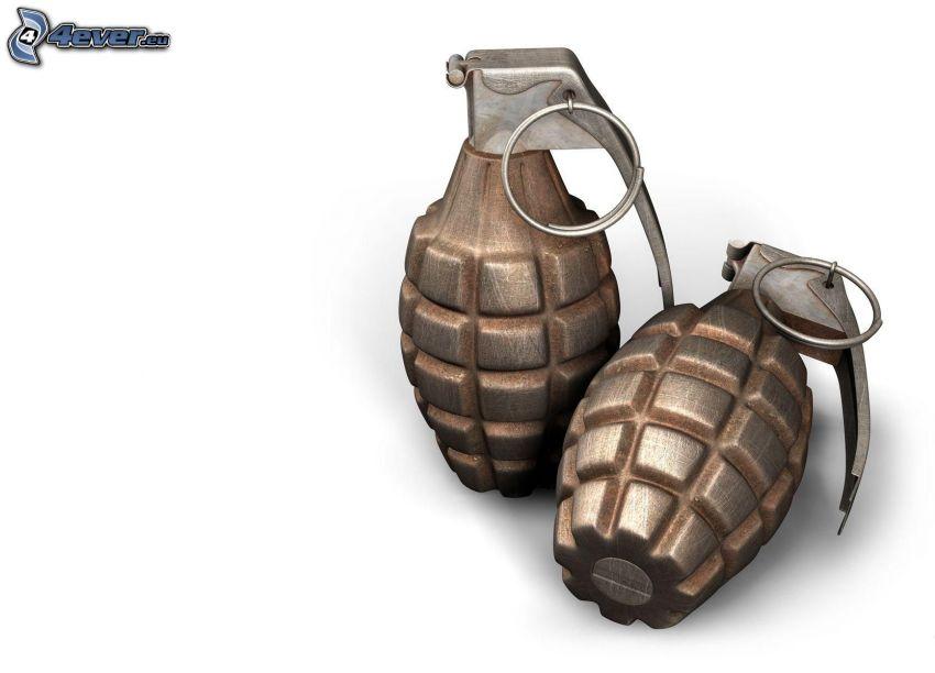 granat ręczny
