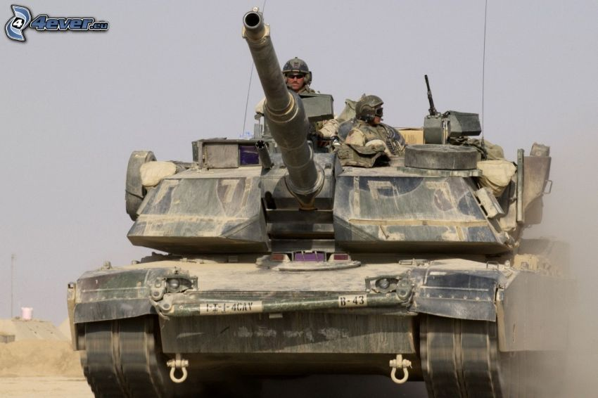 M1 Abrams, czołg, żołnierze