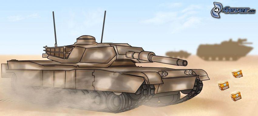 M1 Abrams, czołg