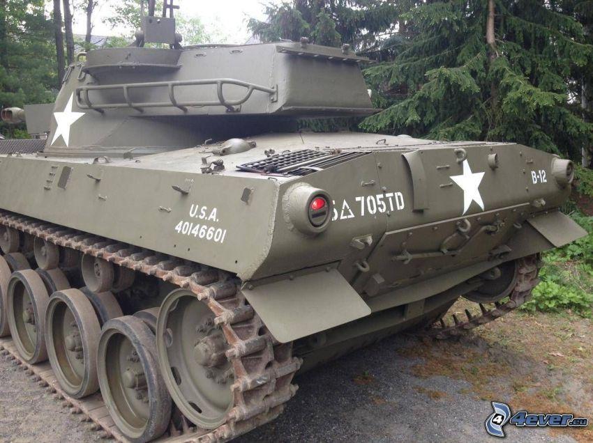 M18 Hellcat, czołg