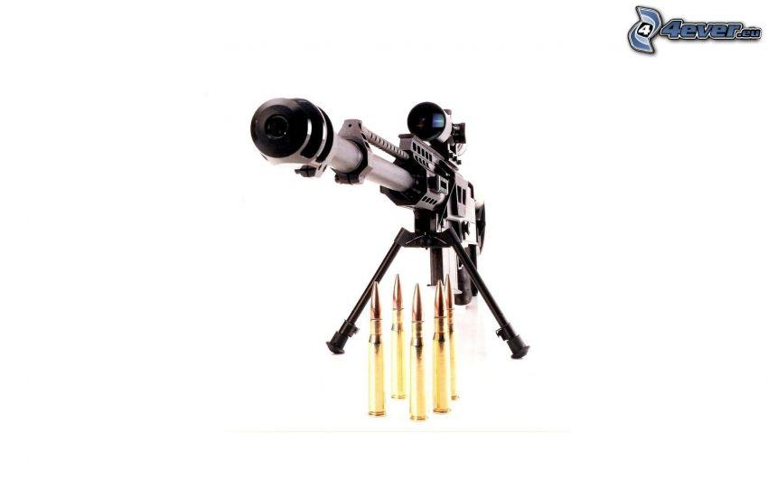 sniper, amunicja