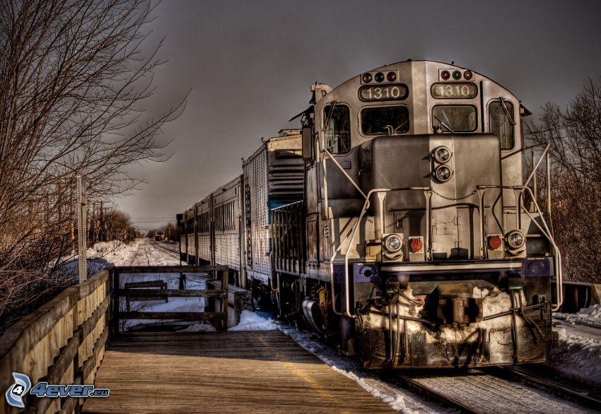 pociąg, HDR