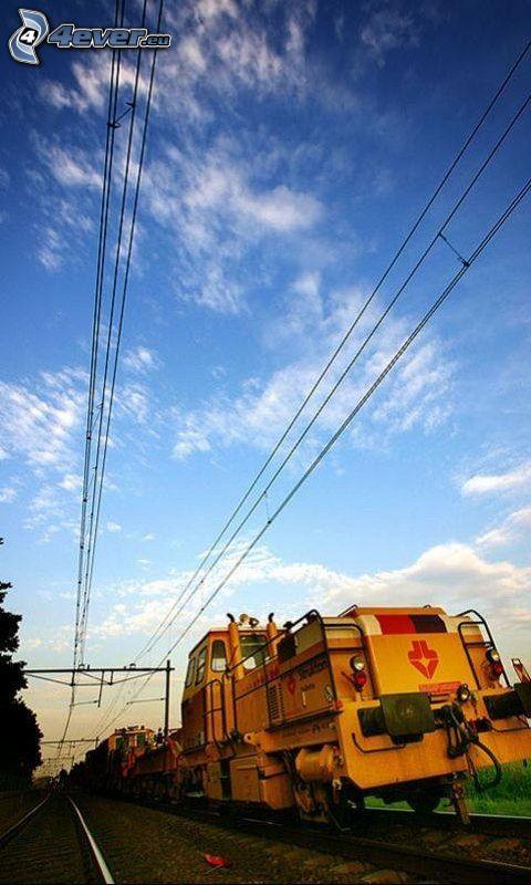 lokomotywa, pociąg
