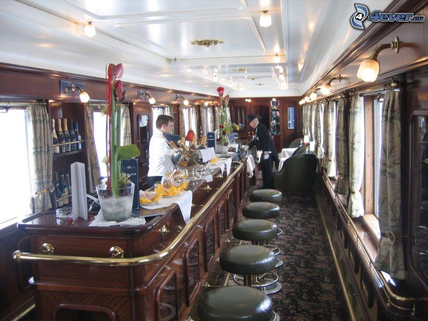 Orient Express, wagon restauracyjny, luksus