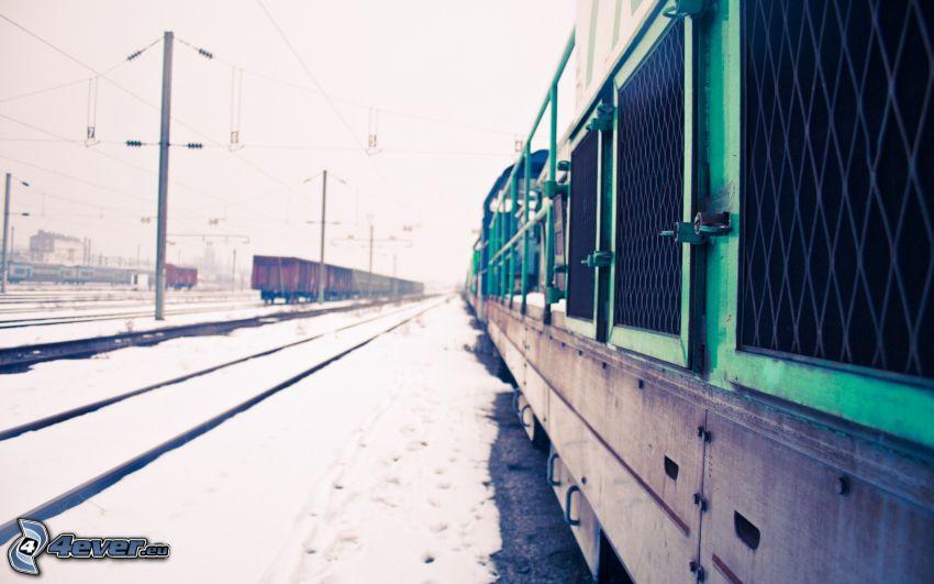 pociągi, stacja kolejowa