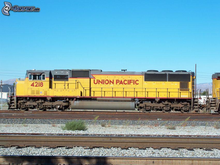 Union Pacific, lokomotywa, tory kolejowe