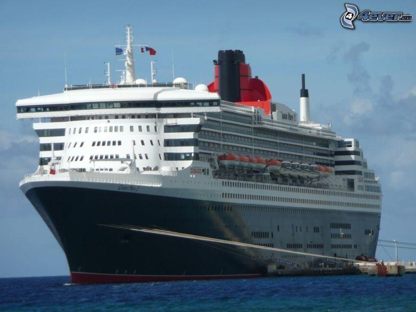 Queen Mary 2, luksusowy statek