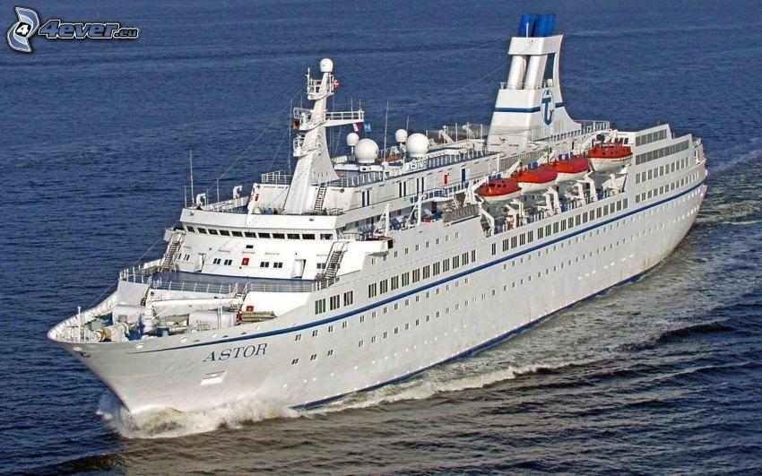 statek wycieczkowy, morze