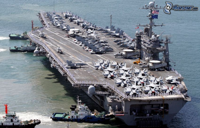 USS George Washington, lotniskowiec