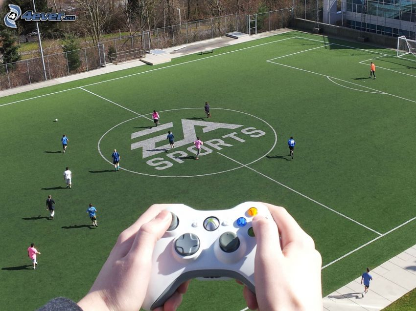 FIFA live, EA sports, stadion piłkarski
