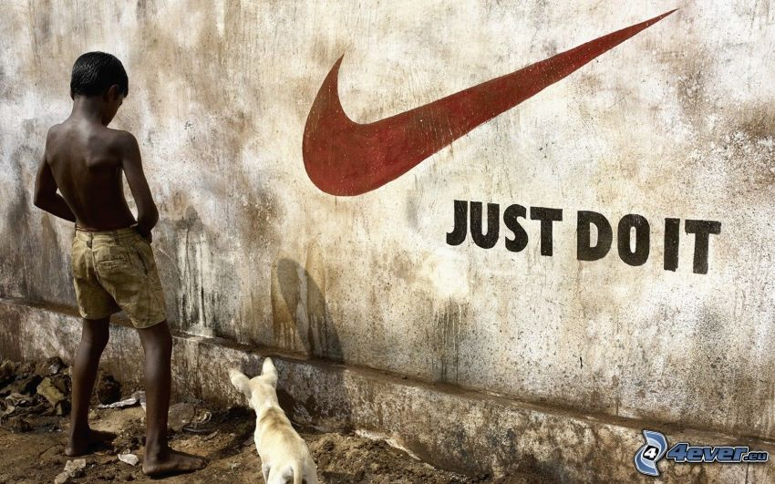 Just Do It, Nike, parodia