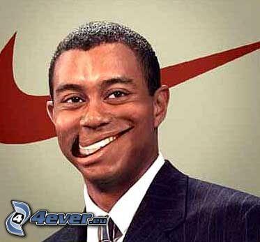 Nike, uśmiech