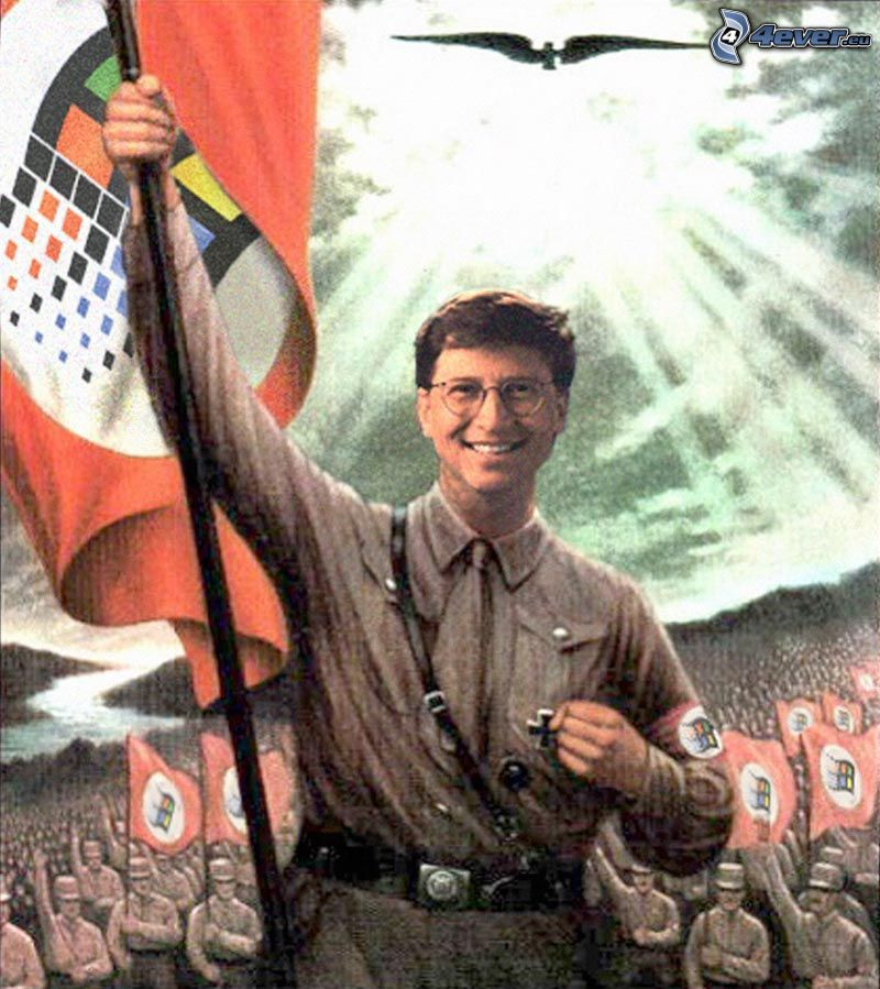 Windows, Bill Gates, wojsko