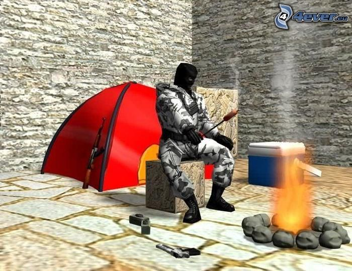 Camping, Counter Strike