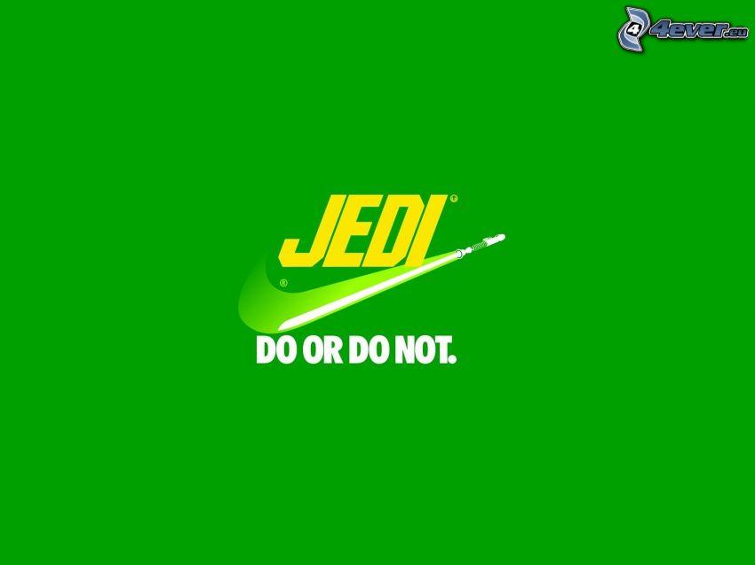 Jedi, Nike, parodia