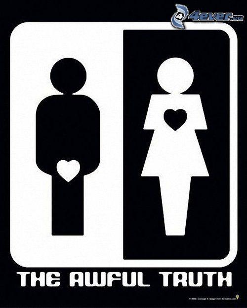 mężczyzna i kobieta, prawda