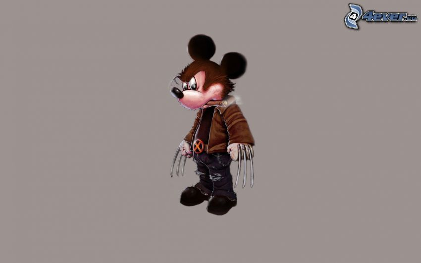 Mickey Mouse, Wolverine