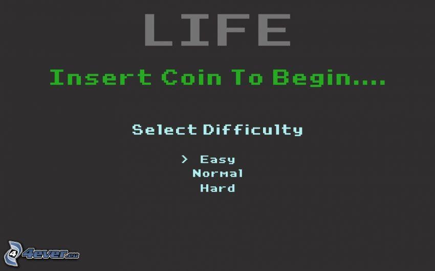 życie, moneta