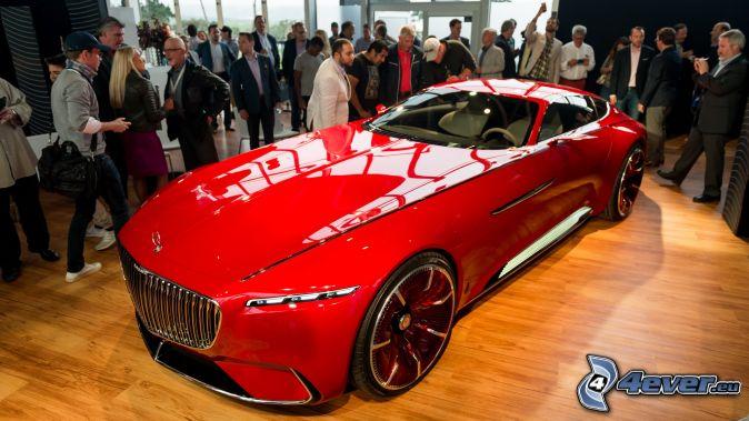 Mercedes-Maybach 6, výstava, autosalón
