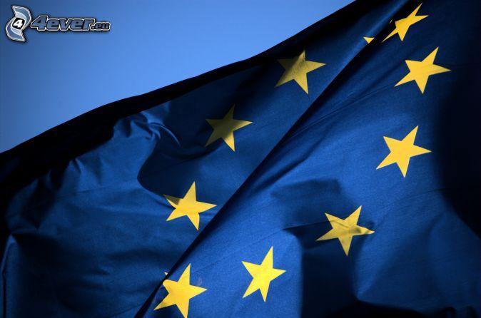 európska únia, vlajka