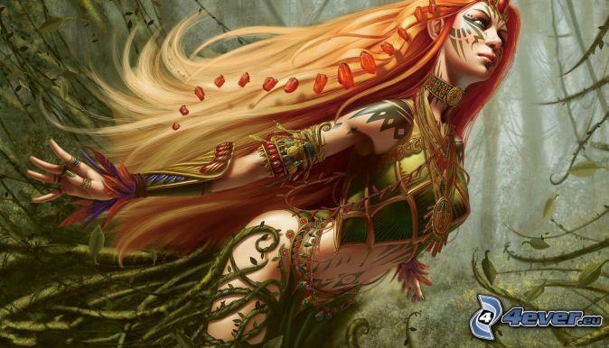 fantasy žena