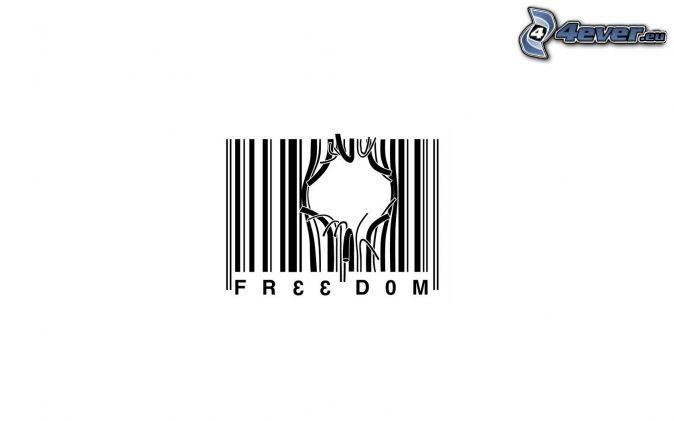 Sloboda , čiarový kód