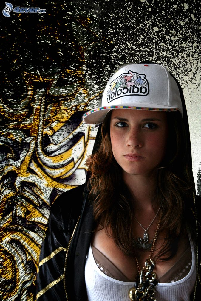 hip-hopové dievča