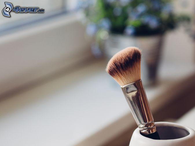 štetec, make-up