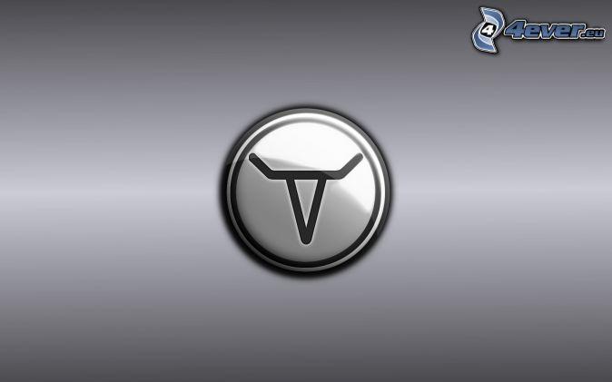 logo, sivé pozadie