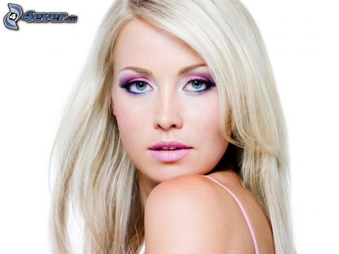 blondínka
