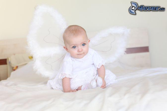 bábätko, anjelik