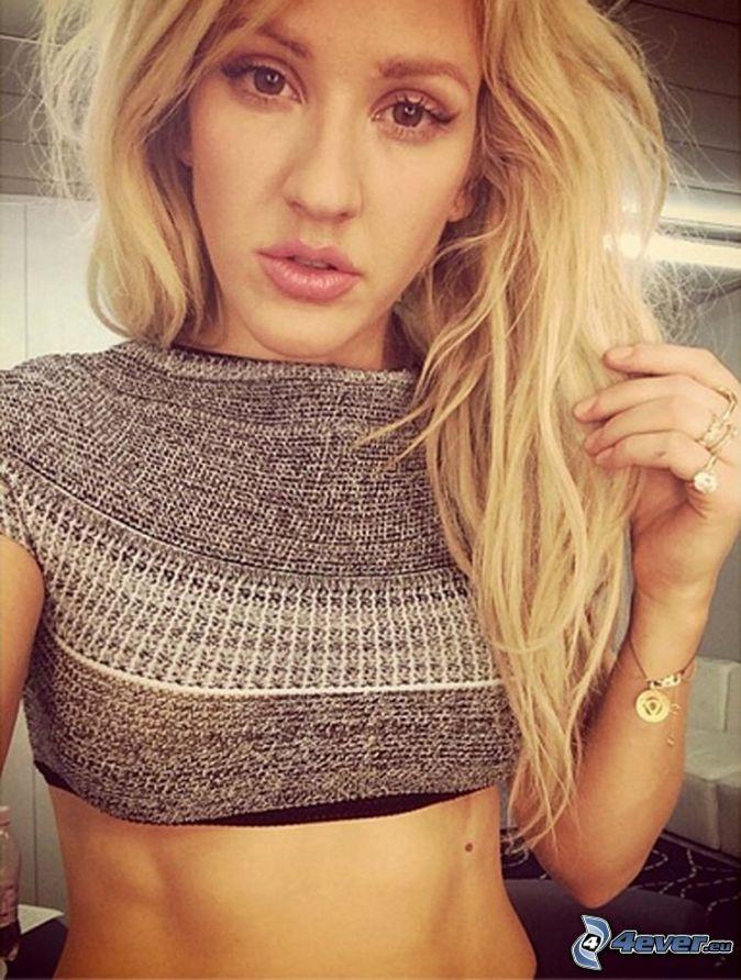 Ellie Goulding, selfie